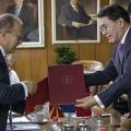 Во посета на МАНУ делегација на Кинеската академија на науките, предводена од  претседателот, проф. Чунли Баи