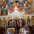 Божествена Литургија во храмот на св.пророк Илија, Скопје (09 и 12.10.2018)