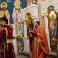 Божествена Литургија во храмот на св.пророк Илија, Скопје (11.12.2018)