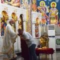 Заупокоена Божествена Литургија во храмот на св.пророк Илија, Скопје (15.06.2019)