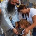 Божествена Литургија во манастирот на св.вмч. Пантелејмон, н. Нерези (09.08.2019)