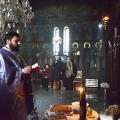 Божествена Литургија во манастирската црква на св.вмч.Георгиј,н.Криви Дол,Скопје (24.02.2020)