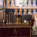 Божествена Литургија во храмот Рождество на Пресвета Богородица, Скопје (14.08.2020)