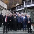 Мета: Бескрајно благодарен на срдечниот дочек на владиката Партениј и бигорското братство