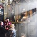 Божествена Литургија во храмот на св. вмч. Димитриј, Скопје (17.01.2021)