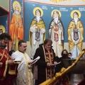 Божествена Литургија во храмот на св.пророк Илија, н.Аеродром Скопје (18.01.2021)