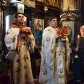 Божествена Литургија во храмот на св.Петка, Скопје (14.02.2021)