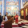 Божествена Литургија во храмот на св.Јован Крстител, н.Бутел,Скопје (21.02.2021)