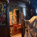 Божествена Литургија во манастирот на св. Никола, с. Љубанци (10.04.2021)