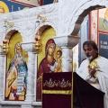 Божествена Литургија во храмот на св.пророк Илија, н.Аеродром, Скопје (14.10.2021)